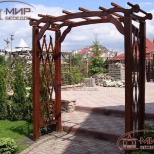 Деревянные арки и шпалеры