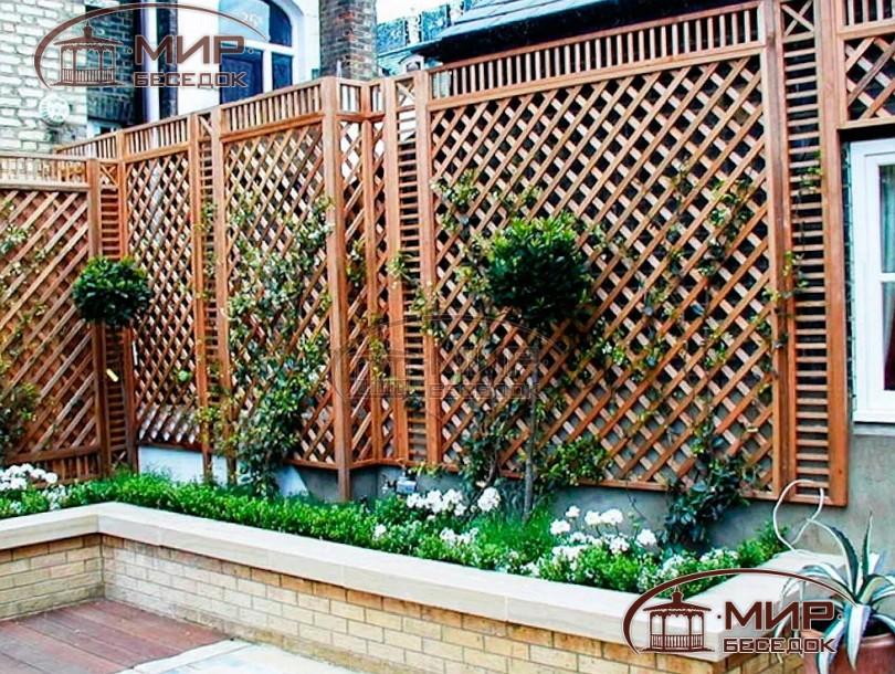 садовая шпалера своими руками фото использовать