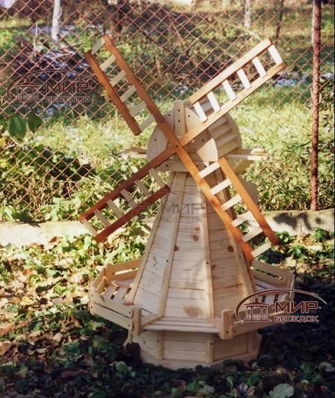 давно мельница на пне для сада фото образом